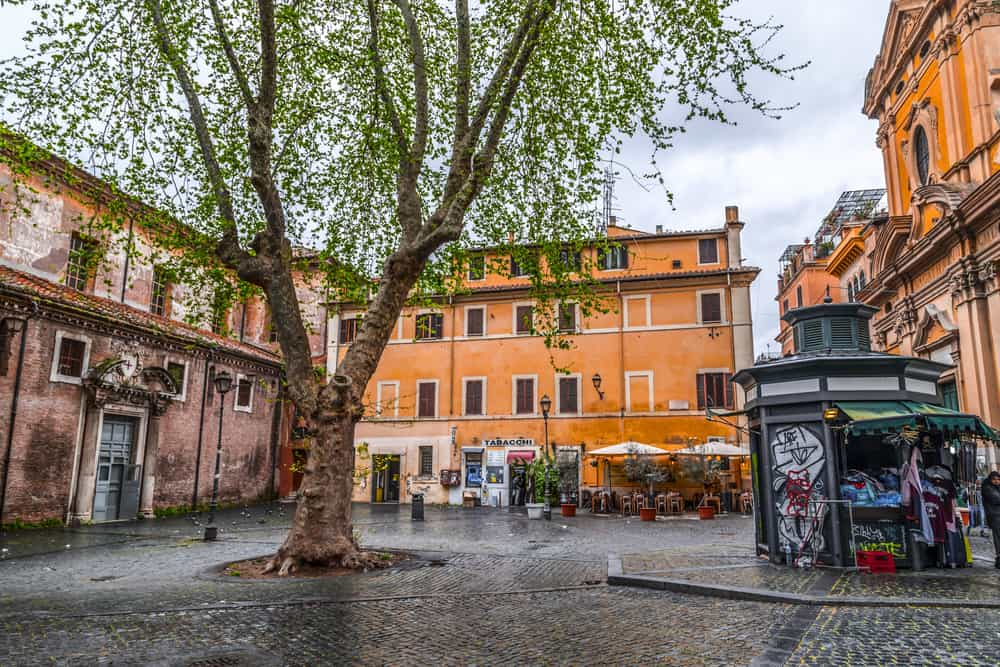 accommodation trastevere rome