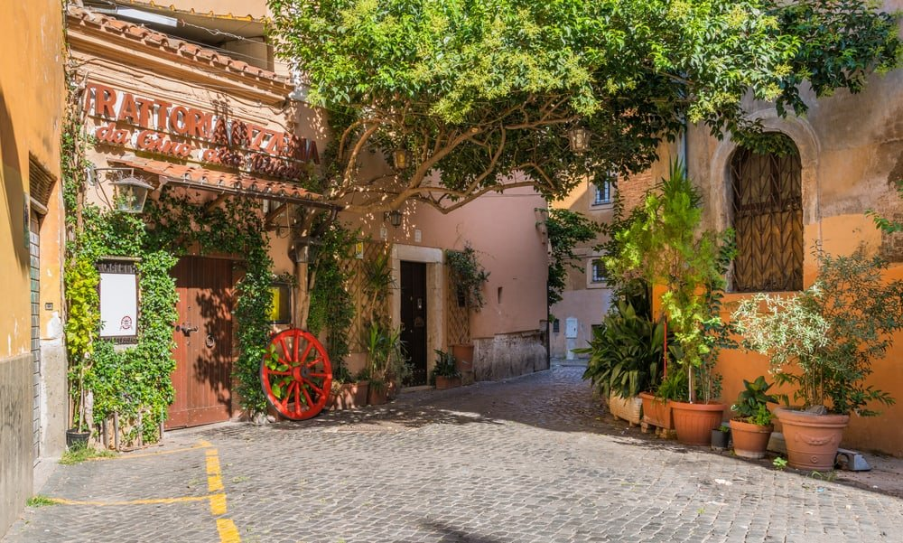 hotels in trastevere rome