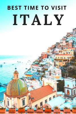 Italy travel planning - find out the best month and season for your trip to Italy