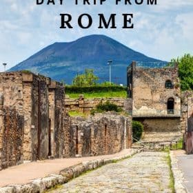 Italy travel tips - day trip to Pompeii from Rome