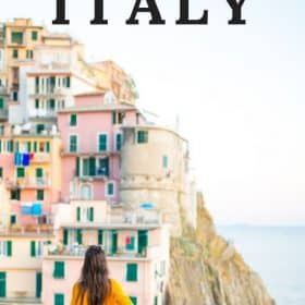 Italy vacation - choose a guided tour of Italy and see all the sights