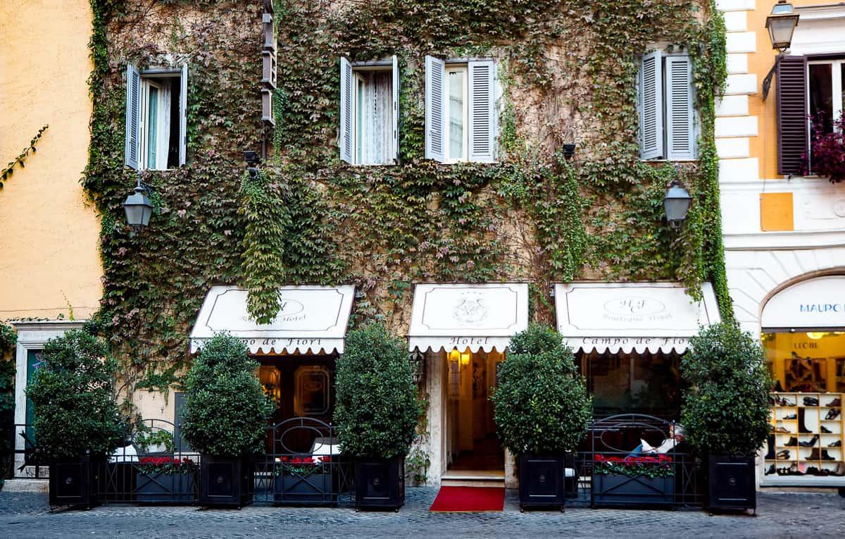 rome boutique hotel campo de fiori