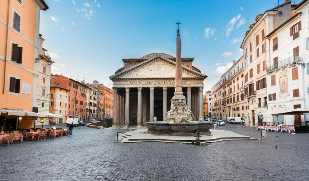 hotels near pantheon in rome