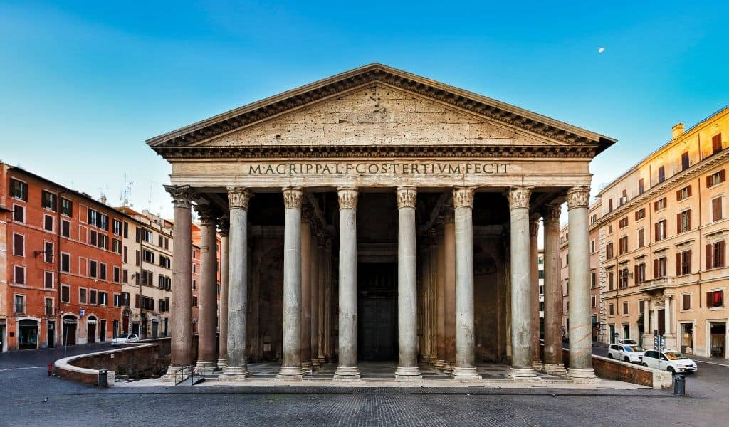 pantheon architecture