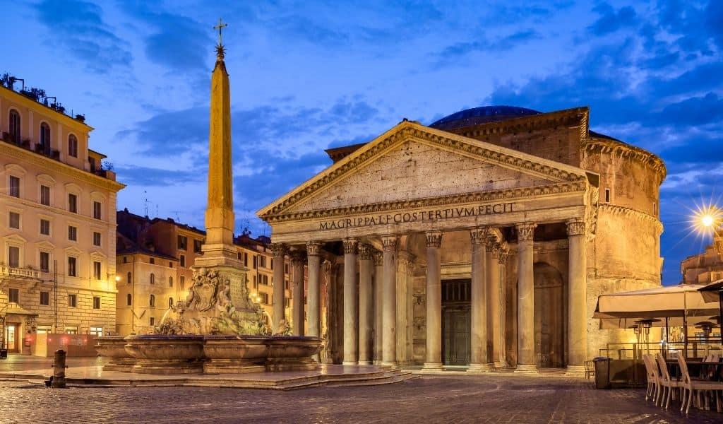 luxury rome hotels pantheon