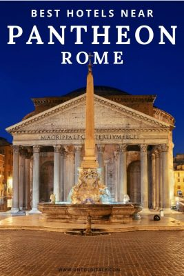Rome Italy - travel tips and hotels. Stay near the Pantheon in Rome's historic district