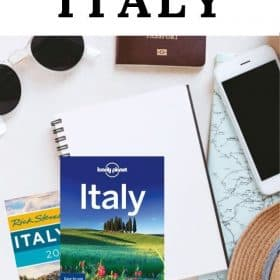 Italy travel - start planning for your Italy trip with these great guidebooks