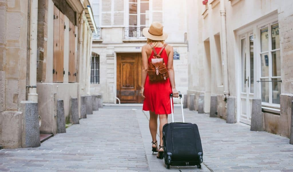 best luggage for Italy travel