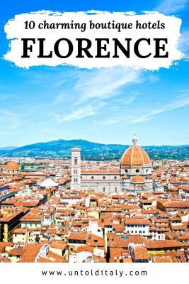 Florence Italy: hotels to fall in love with