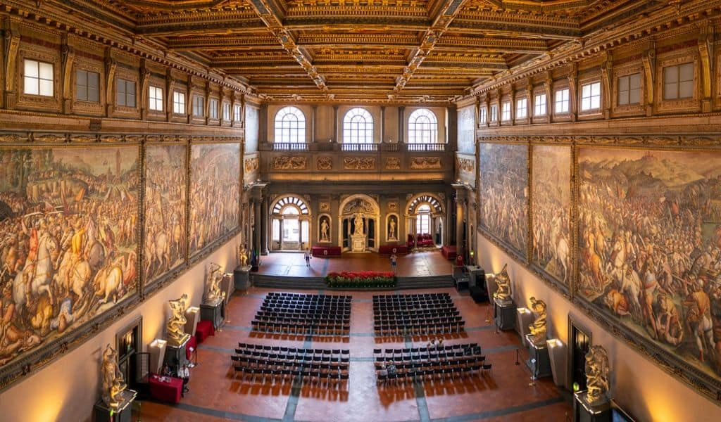 famous museum in florence - palazzo vecchio