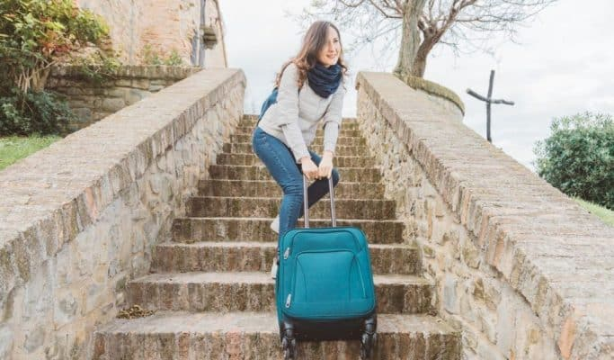 backpack or suitcase for italy